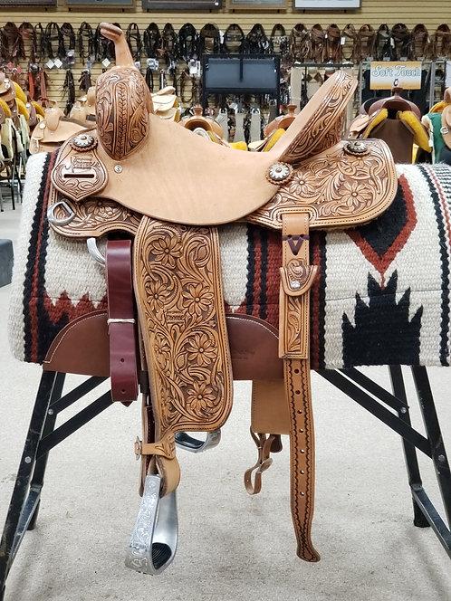 """14"""" Jeff Smith Xtreme Barrel Saddle (X-6973)"""