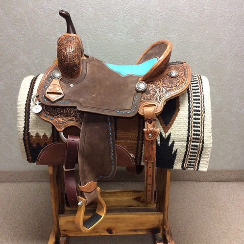 "15"" Paul Taylor Barrel Saddle ( PT-5)"
