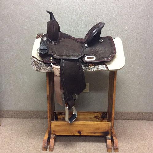 "14"" Circle Y High Horse Leona Barrel Saddle"
