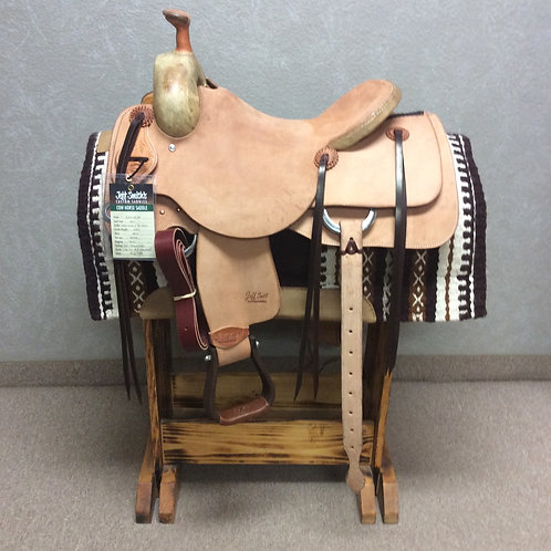 """16"""" Jeff Smith Cowhorse Saddle (CH-6789)"""