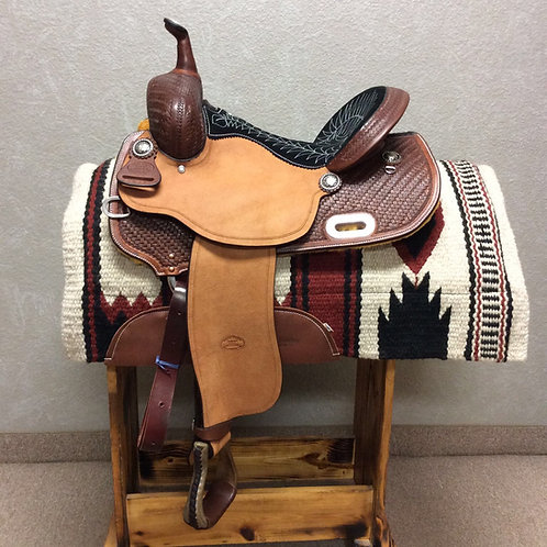 """14"""" Billy Cook Barrel Saddle #1940"""
