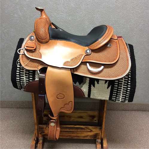 "16"" Billy Cook Reining Saddle #6112"