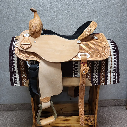 "16"" SRS Saddlery Barrel Saddle"