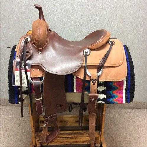 """16"""" Jeff Smith Cutting Saddle (C-059)"""