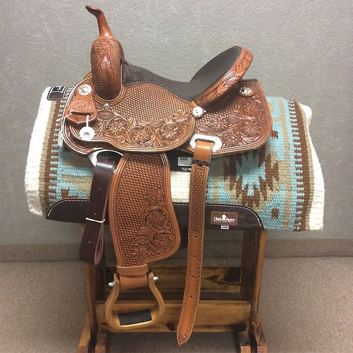 "14"" Paul Taylor Barrel Saddle ( PT-14 Pink)"