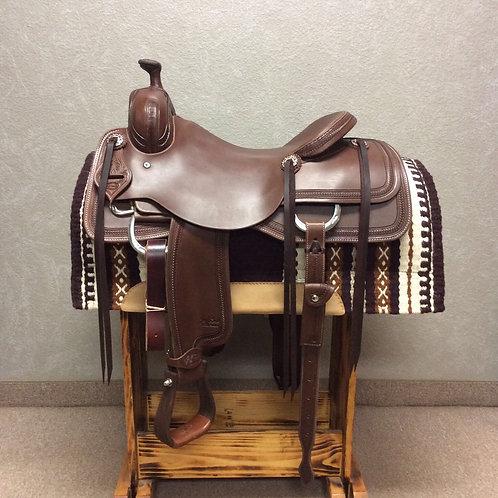 """17"""" Jeff Smith Cowhorse Saddle"""