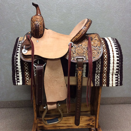 "14"" SRS Saddlery Barrel Saddle"