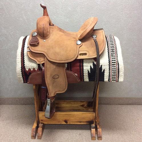 """15""""  Billy Cook Barrel Saddle #1934"""
