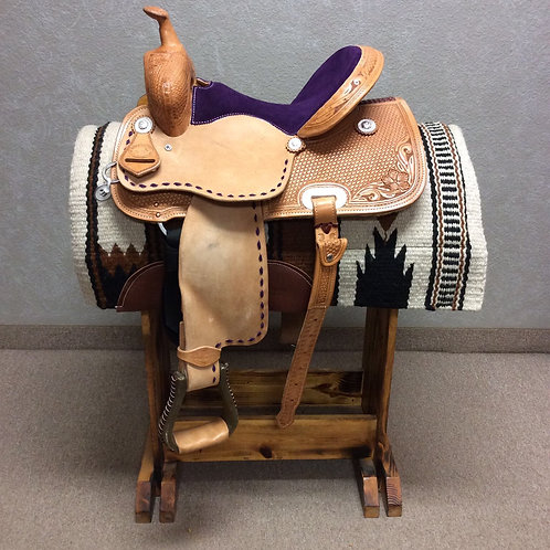 "14"" SRS Saddlery Barrel Saddle (SRSB-33)"
