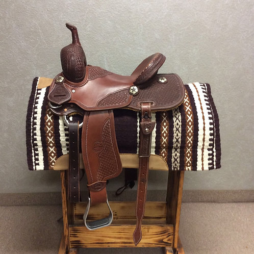 "14"" Jeff Smith Barrel Saddle (JSB-159)"