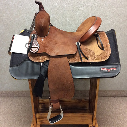 "14.5"" Edna Barrel Saddle"