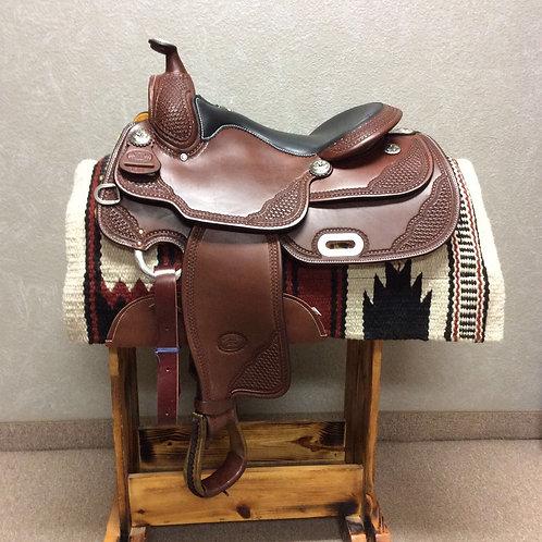 "16"" Billy Cook Reining Saddle #9602"