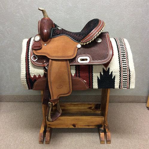 """14"""" Billy Cook Barrel Saddle #1530"""