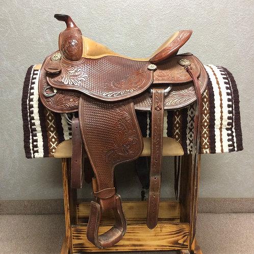 """Used 16"""" Dale Chavez Reining Saddle"""
