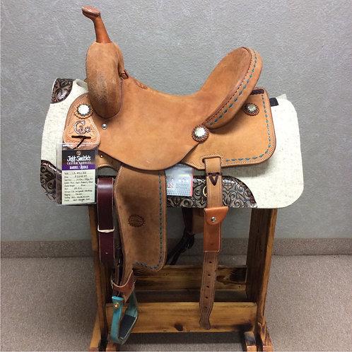"""14.5"""" Jeff Smith C3 Barrel Saddle (C3-5238)"""