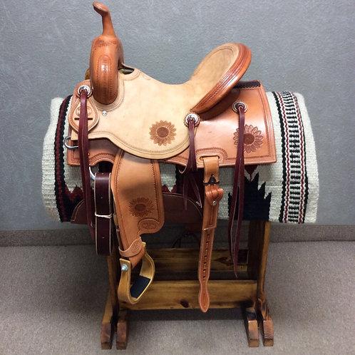 "14.5"" Paul Taylor Barrel Saddle (PTB-8)"