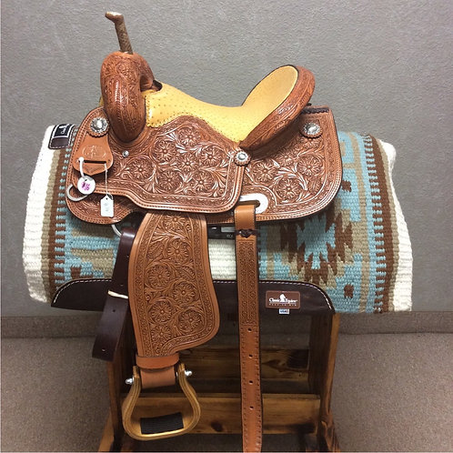 "14"" Paul Taylor Barrel Saddle ( PT-16 Pink)"