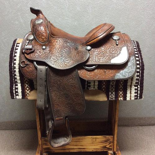 "Used 15.5"" Harris Show Saddle"
