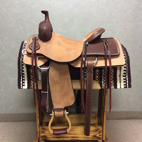 "16"" SRS Ranch Cutting Saddle"