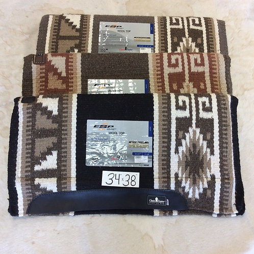 ESP Wool Top Saddle Pads with Memory Foam