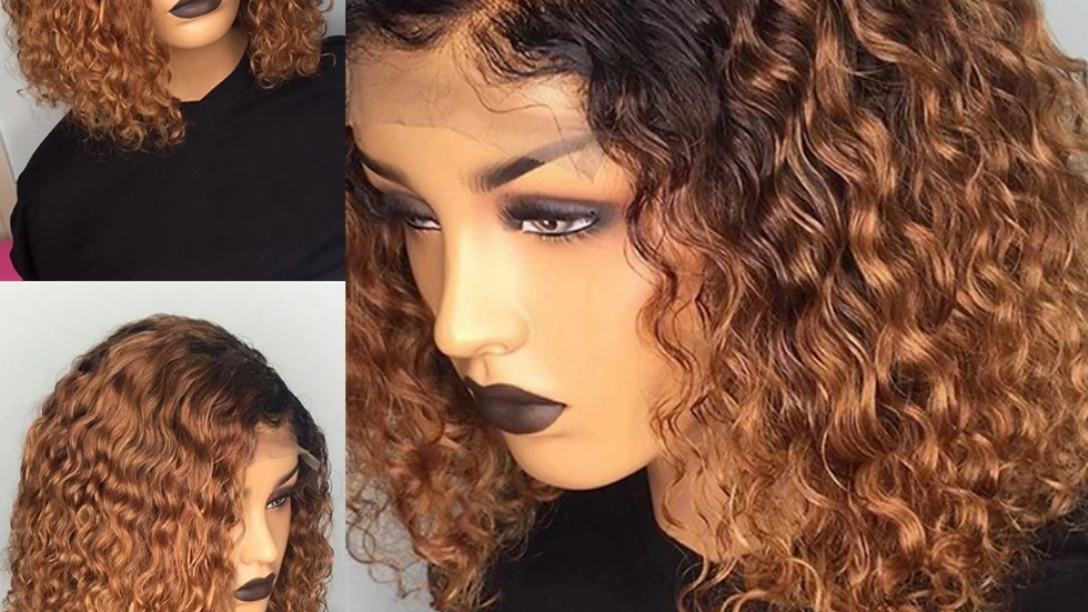 Ombre lace front wig 8inch-16inch