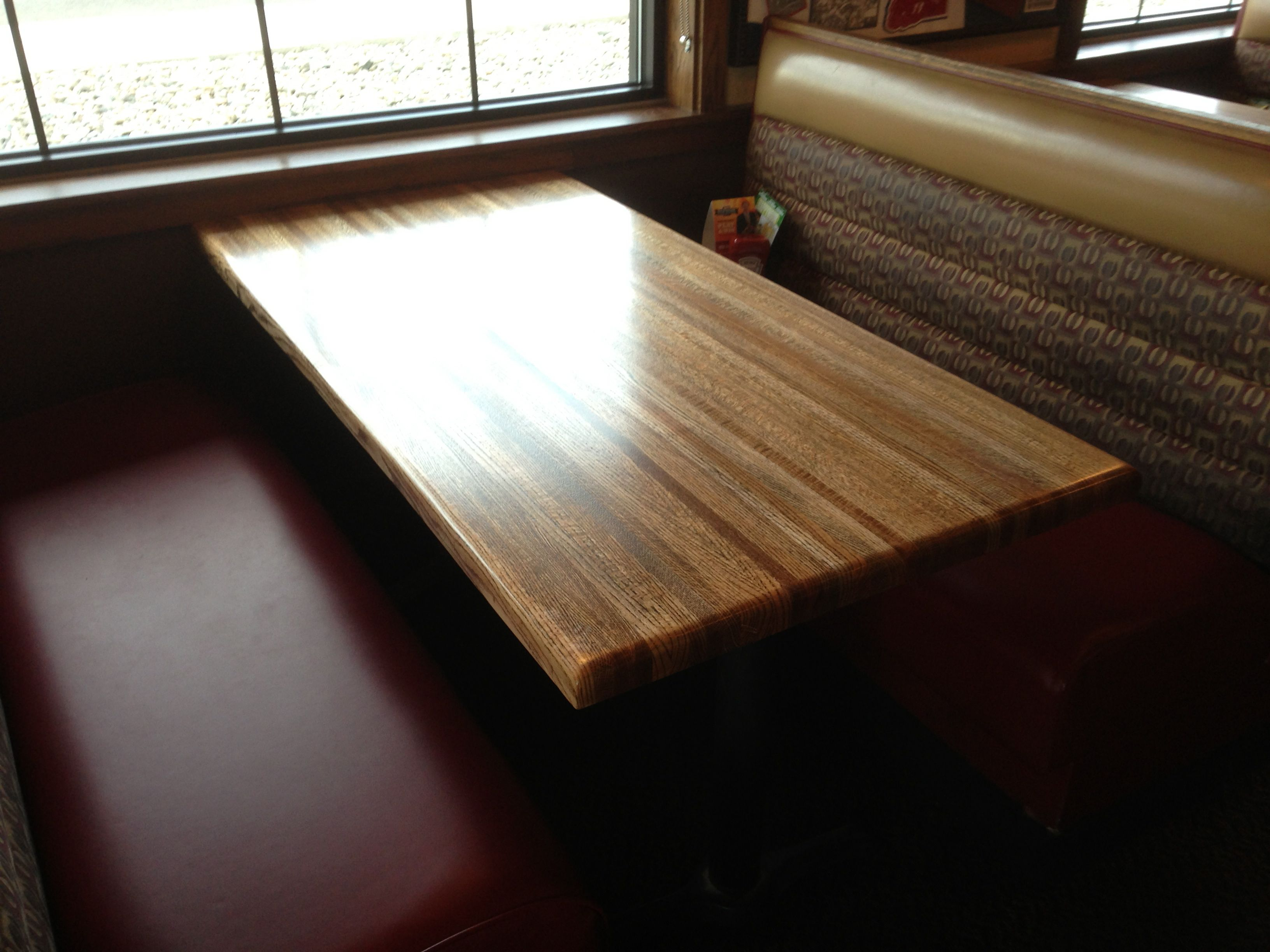 Applebees Refinished Table Tops