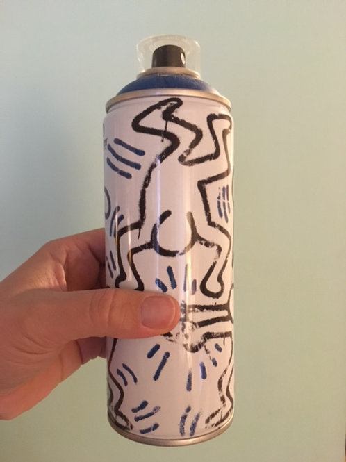 Limited Edition Haring Spray Can