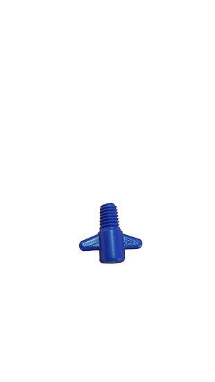 Halbstrahldüse K22 (blau) M6 Gewinde (Montagering wird nicht benötigt)