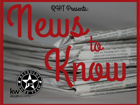 RHT Presents Your December 2017 News To Know