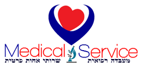 לוגו של Medical Service שרותי אחות פרטית מעבדת דם עד לבית
