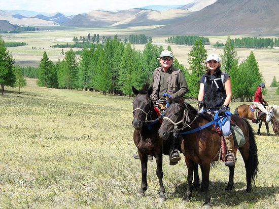 horse riding in Assy plateau