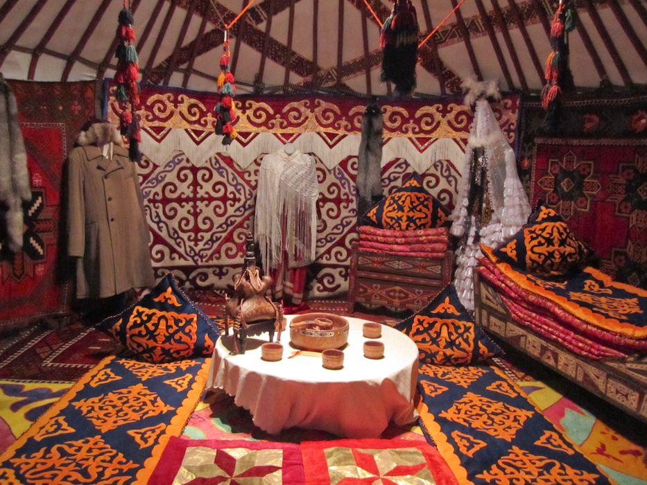 Kazak nomadic yurta