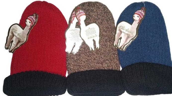 Gorras de alpaca