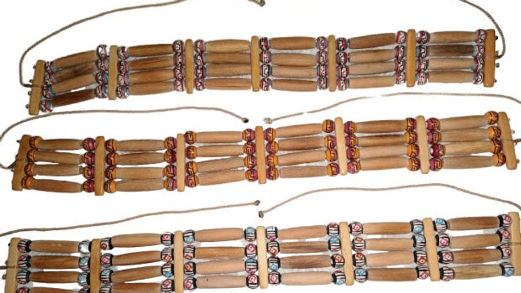 Collar estilo Lakota Sioux.