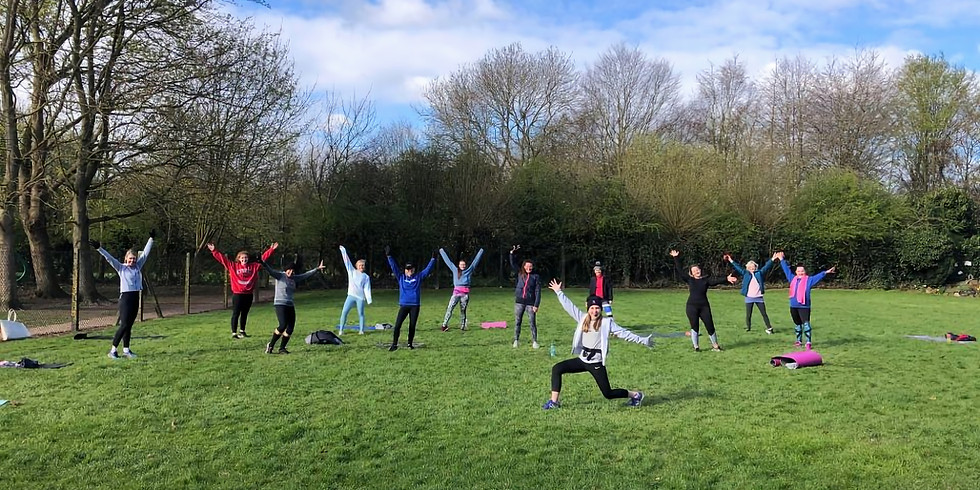 WEDNESDAY 21ST APRIL ZUMBA OUTDOORS