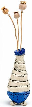 Dr Seuss Bud Vase: Cobalt