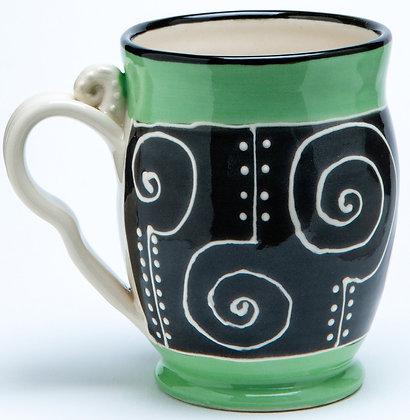 Confetti Mug: Jade 2