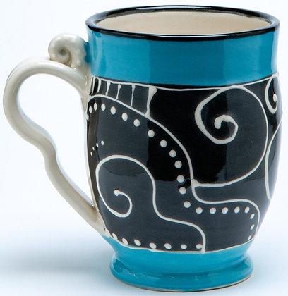 Confetti Mug: Turquoise 3