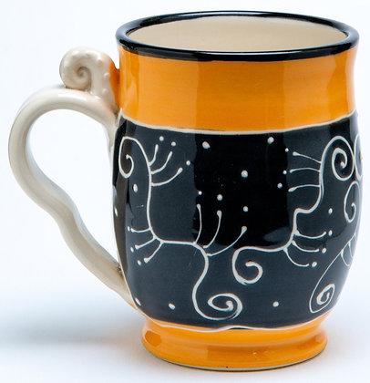 Confetti Mug: Candy Orange 1
