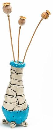 Dr Seuss Bud Vase: Turquoise