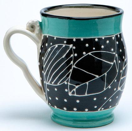 Confetti Mug: Turquoise 1