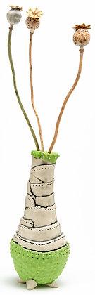 Dr Seuss Bud Vase: Chartreuse