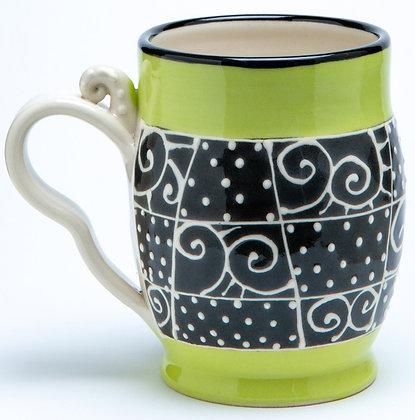 Confetti Mug: Chartreuse 2