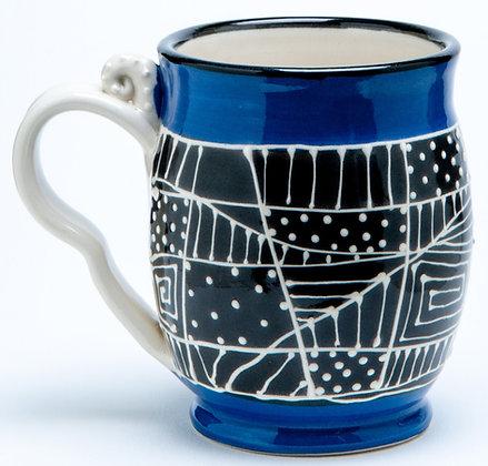 Confetti Mug: Cobalt 1