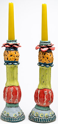 Candlestick: Fruity Tooty – Pineapple Express (pair)