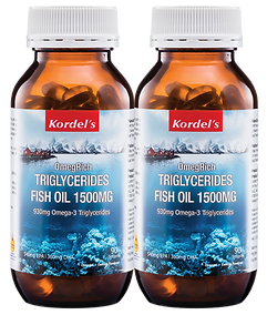Kordel's OmegRich Fish Oil 1500mg 90'Sx2
