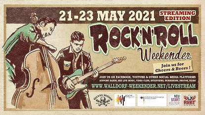 Jake Calypso Virtual Walldorf Rock'n'Roll Weekender