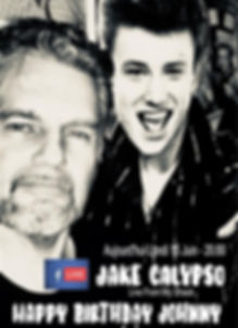 Jake Calypso Facbook Live Johnny Hallyday