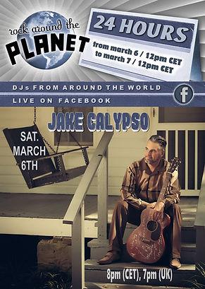 March 6th - Jake Calypso - Rock Around T