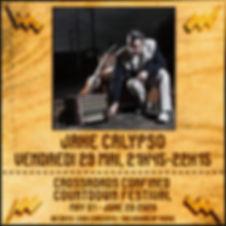 Jake Calypso Crossroads Confined Countdown Festival
